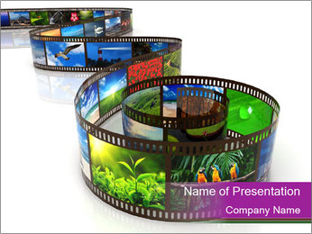 Photography Film PowerPoint Template
