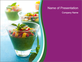 Green Soup PowerPoint Template