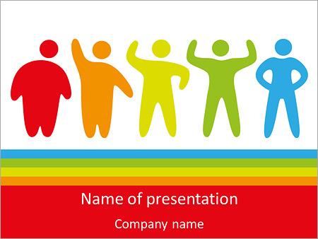 Abnehmen-Programm PowerPoint-Vorlagen