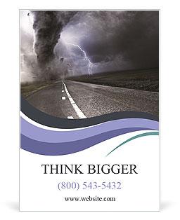 Tornado Dangerous I pattern per gli annunci pubblicitari