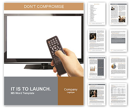 Smart Tv Word Template