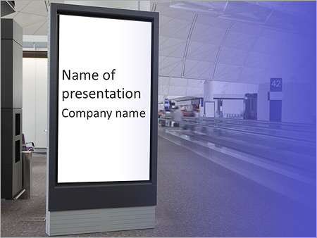 Advertisement Board PowerPoint Template & Infographics Slides