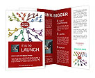 Team Work Structure Brochure Template