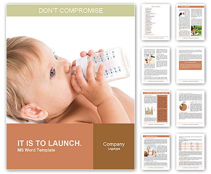 Baby Food Word Template