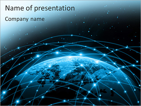Connection PowerPoint Template