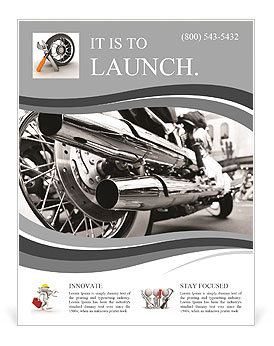 Tail Pipe Flyer Template