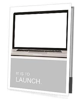 Nowoczesny laptop Prospekty prezentacyjne