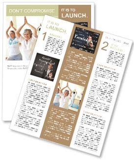 Yoga för Äldre Nyhetssändning