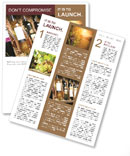 Wine Shop Newsletter Template