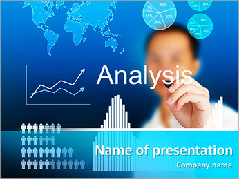Economic Analysis PowerPoint Template, Backgrounds & Google