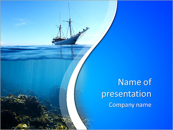 Coral - PowerPoint Template - SmileTemplates com