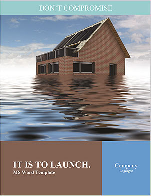 Huis In Water Lexicale template - Pagina 1