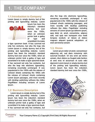 Obchodní strategie Word šablony - Stránky 3