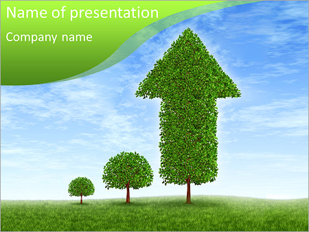 Eco Diagram PowerPoint šablony