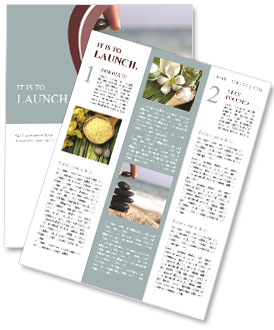 Stone Composition Newsletter Template