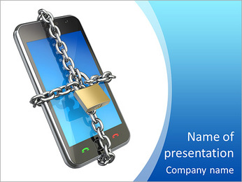 Mobile - PowerPoint Template - SmileTemplates com