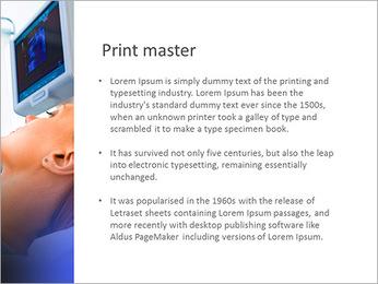 Ultrascanning PowerPoint Template