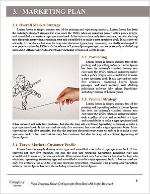 Elegant Businesswoman Word Template - Page 8
