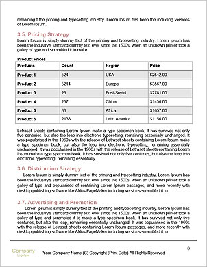 Driving Route Word Template - Page 9