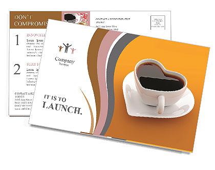 Cuore Formata Cup Le cartoline postali