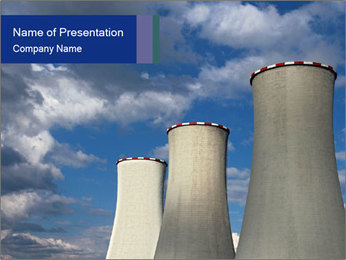 Cooling tower - PowerPoint Template - SmileTemplates com