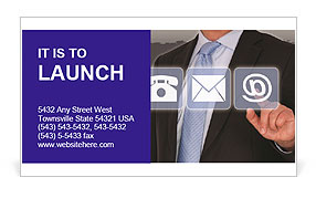 0000075679 Business Card Template