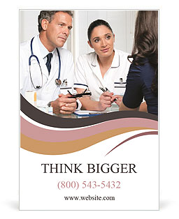Consult a physician Ad Template