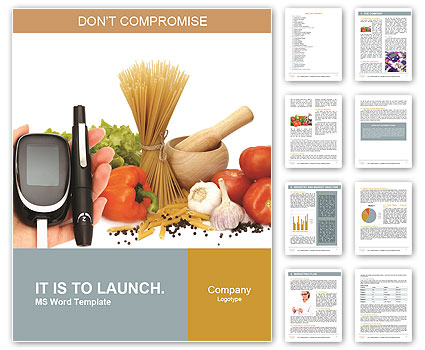 Quality control of vegetables Word Template