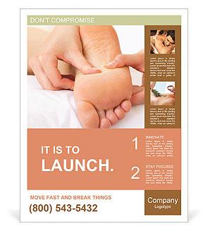 Foot Massage Poster Template