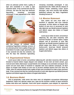 Foot Massage Word Template - Page 4