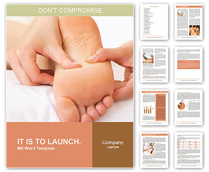 Foot Massage Word Template
