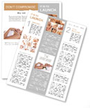 Spa treatments Newsletter Template
