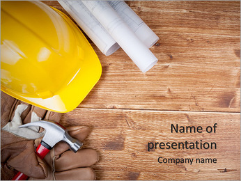 Construction Powerpoint Templates Backgrounds Google