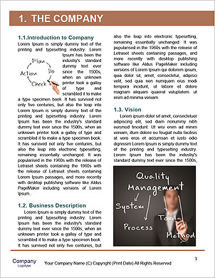 Business man writing diagram of centralization Word Template - Page 3