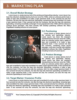 Business man writing diagram of centralization Word Template - Page 8