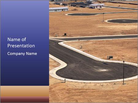 Desert land PowerPoint Template