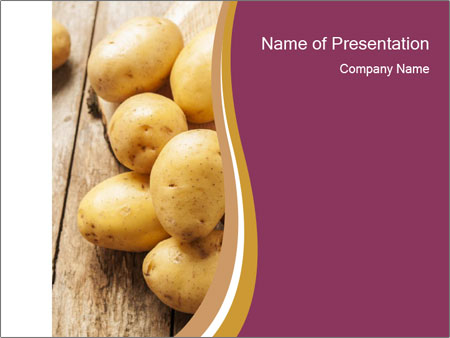 Potatoes PowerPoint Template