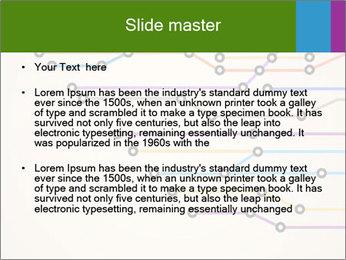 Subway Scheme PowerPoint Template