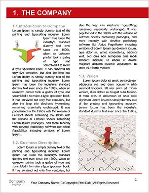 Conception is business of connections, teamwork and cooperation. 3d illustration Word Template - Page 3