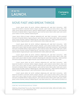 Teamwork concept, group of people with the same goal Letterhead Template