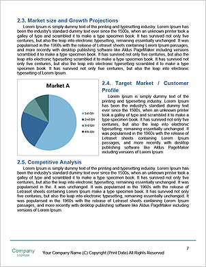 Business graph Word Template - Page 7