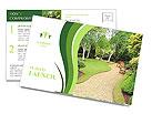 Bella primavera giardino pubblico, Scozia Le cartoline postali