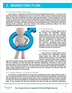 3d small people flying on a mobile phone. 3d image. Isolated white background. Word Template - Page 8