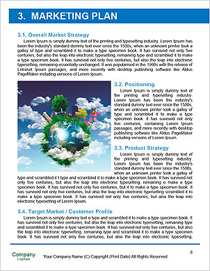 Earth with the different elements on its surface. Humorous collage. Word Template - Page 8