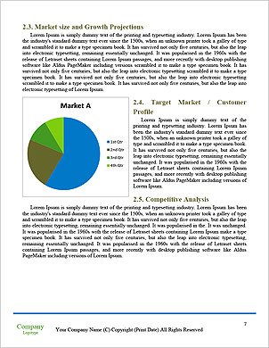 With the different elements on its surface. Word Template - Page 7