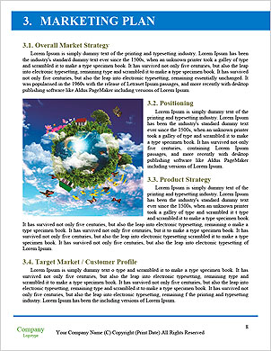 With the different elements on its surface. Word Template - Page 8