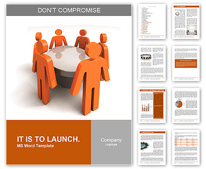Conference. Concept. 3d illustration Word Template