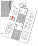 Accused / criticize /A hand in the accused a person Newsletter Template