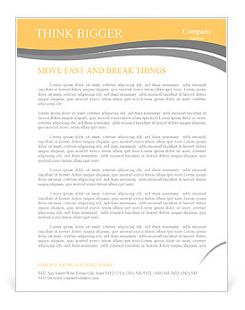 The beautiful girl in a cowboy's hat Letterhead Template