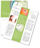 Zegar i kalendarz kompozytowe twarz Rozsyłki nowości